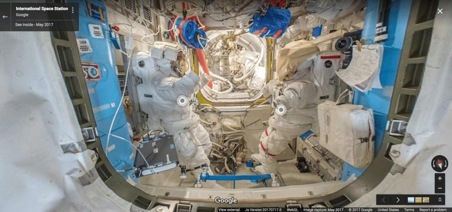 """Outer Space View"" was built with the help of European Space Agency astronaut Thomas Pesquet"