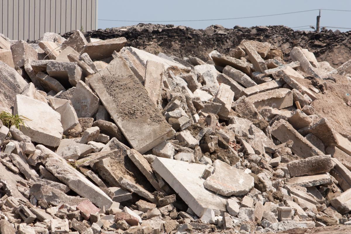 Japanese engineers have developed a more environmentally friendly type of concrete made by recycling old waste concrete