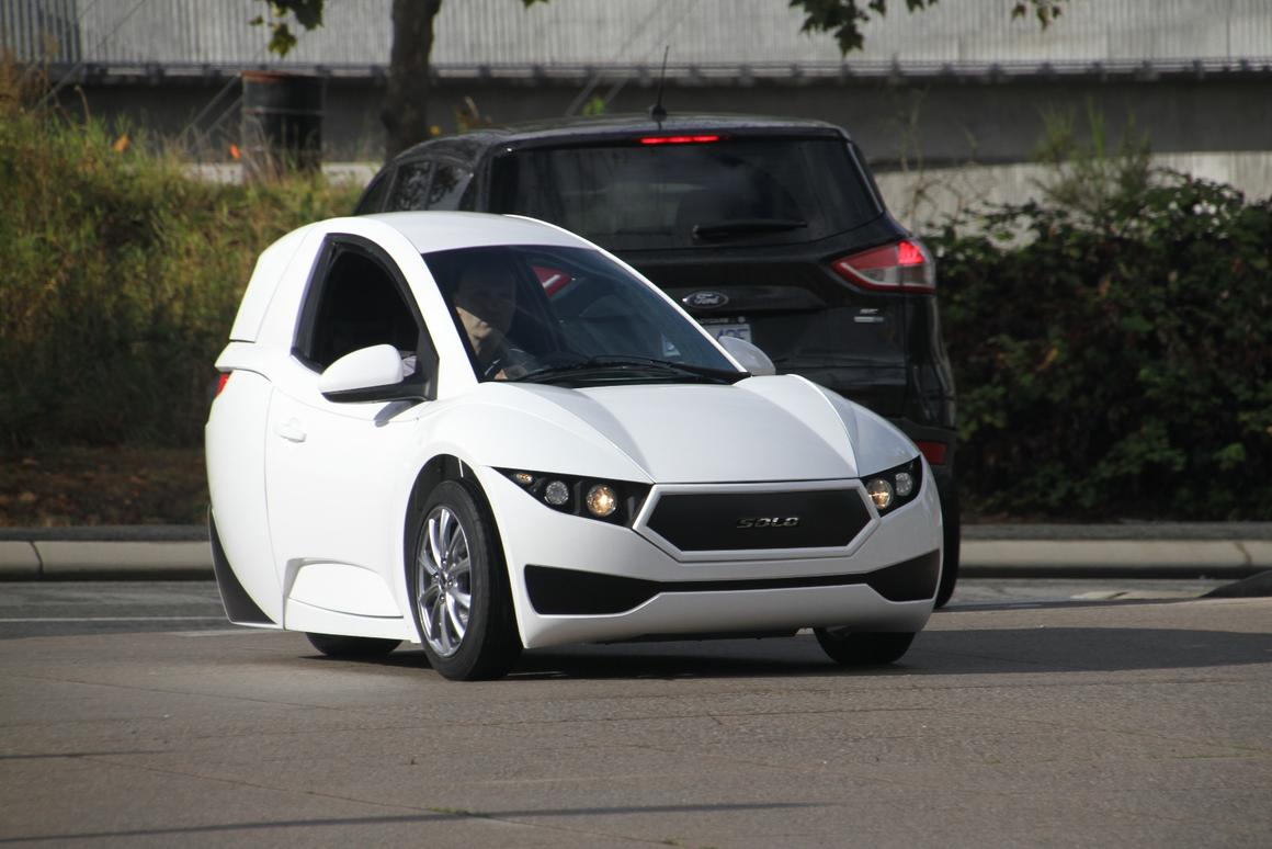 Electra Meccanica revealed the Solo this past weekend and plans to begin deliveries next year