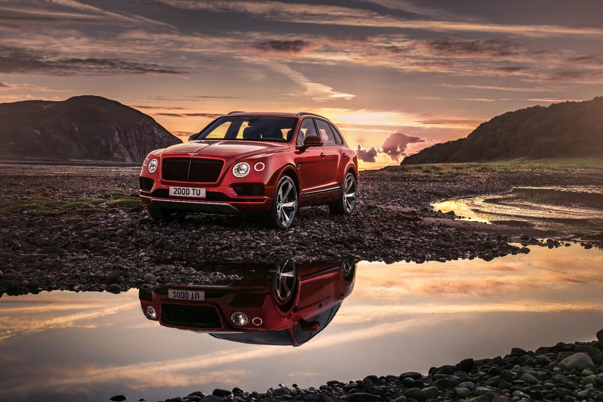 Bentley is marketing the Bentayga V8 as its most sporting SUV to date