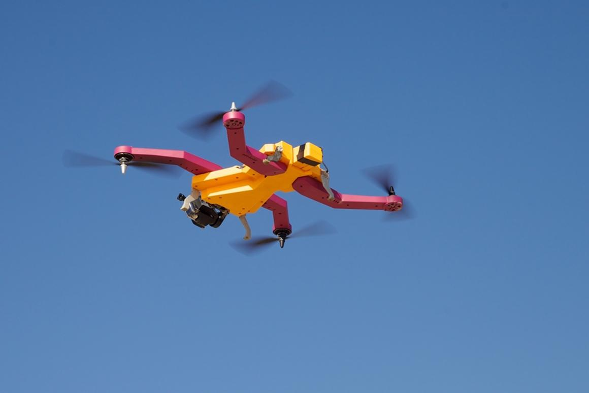 The AirDog is a new autonomous drone that will follow the user and film them using an onboard GoPro camera