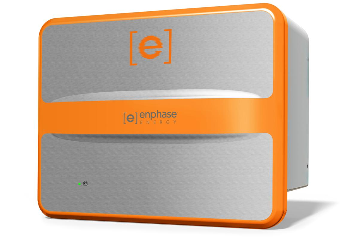 Enphase AC Battery, wall mountable, with build in microinverter