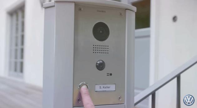The DoorBirddoorbell lets drivers see who's calling