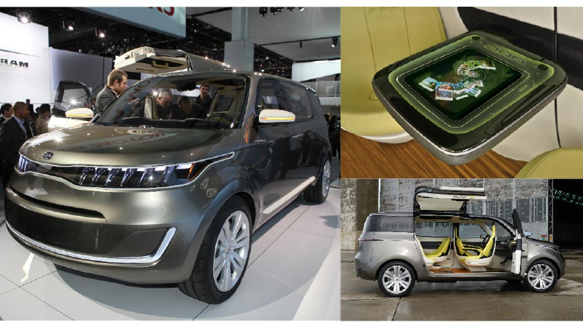 Kia KV7 Concept at the 2011 Detroit Auto Show