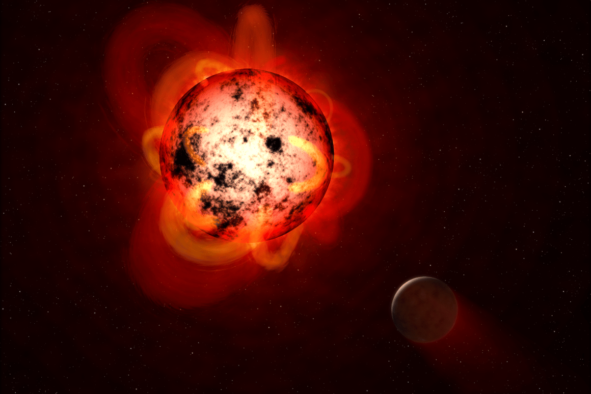 15 new exoplanets have been confirmed from Kepler data, orbiting red dwarf stars like that shown in thisNASA illustration