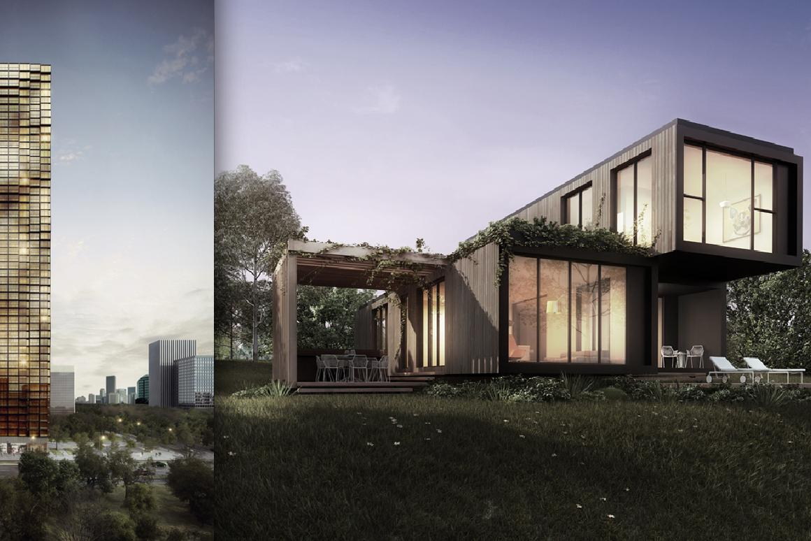 The Klik building system is designed for residential projects of all sizes (Image: Elenberg Fraser + Unitised Building Australia)