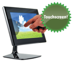 """The iMo 7"""" touchscreen monitor"""