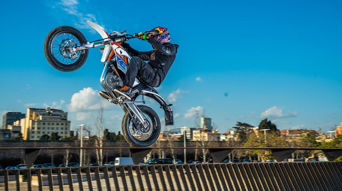 Freeride E-SM is KTM's first street-legal electric bike