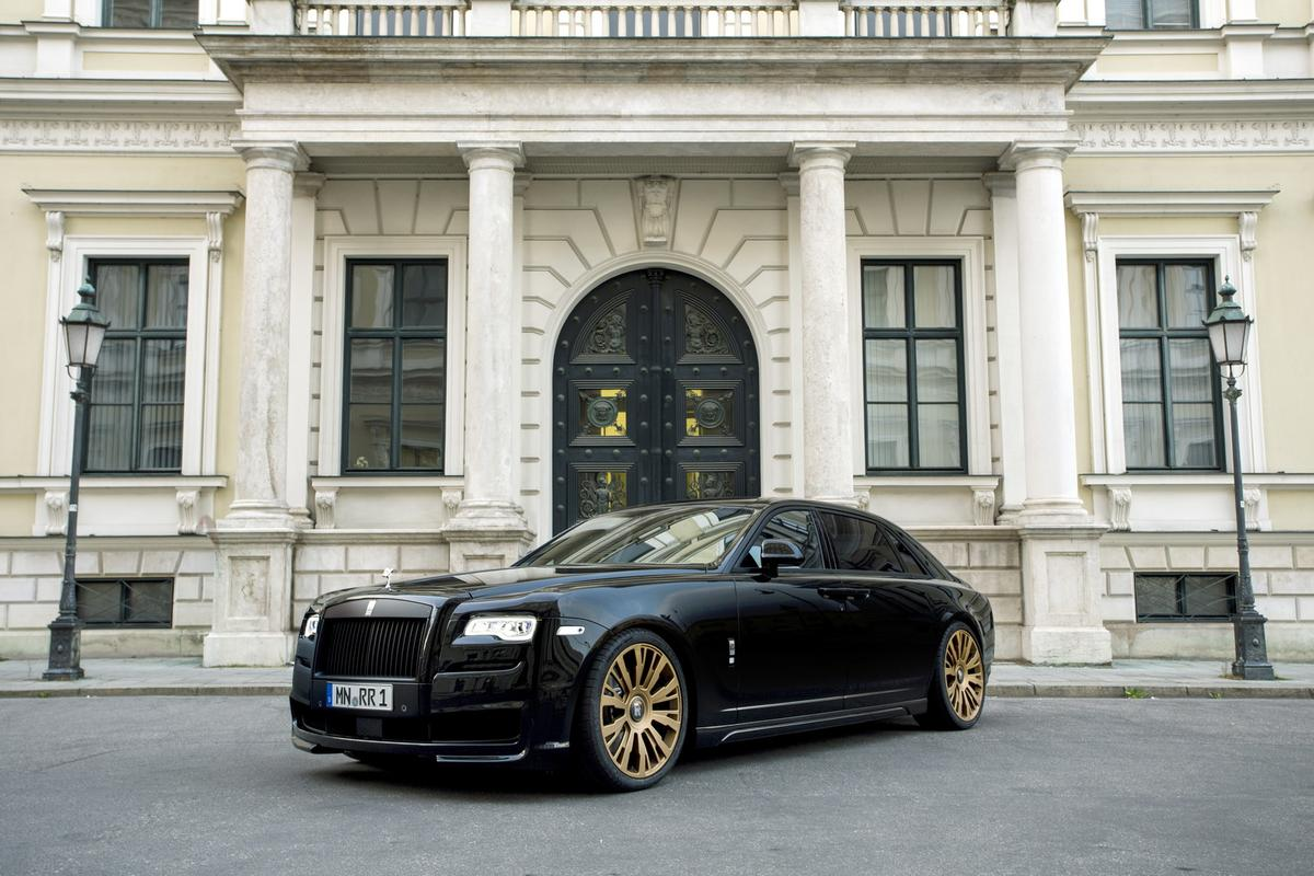 The SPOFEC Black One enhances both the aesthetics and performance of the Rolls Royce Ghost Series 2