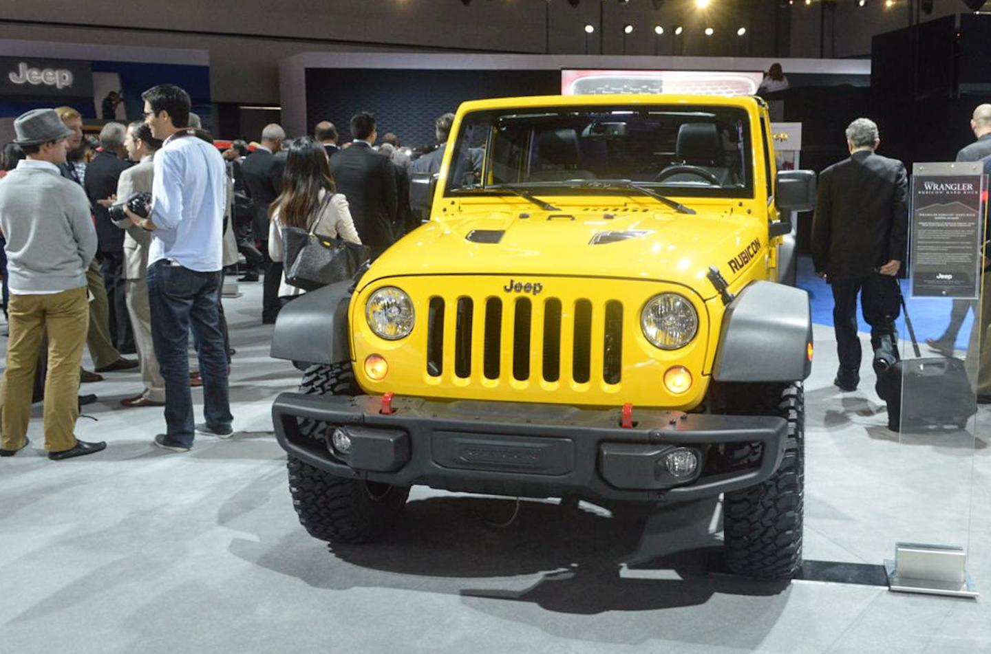 Jeep Wrangler Rubicon Hard Rock (Photo: C.C. Weiss/Gizmag)