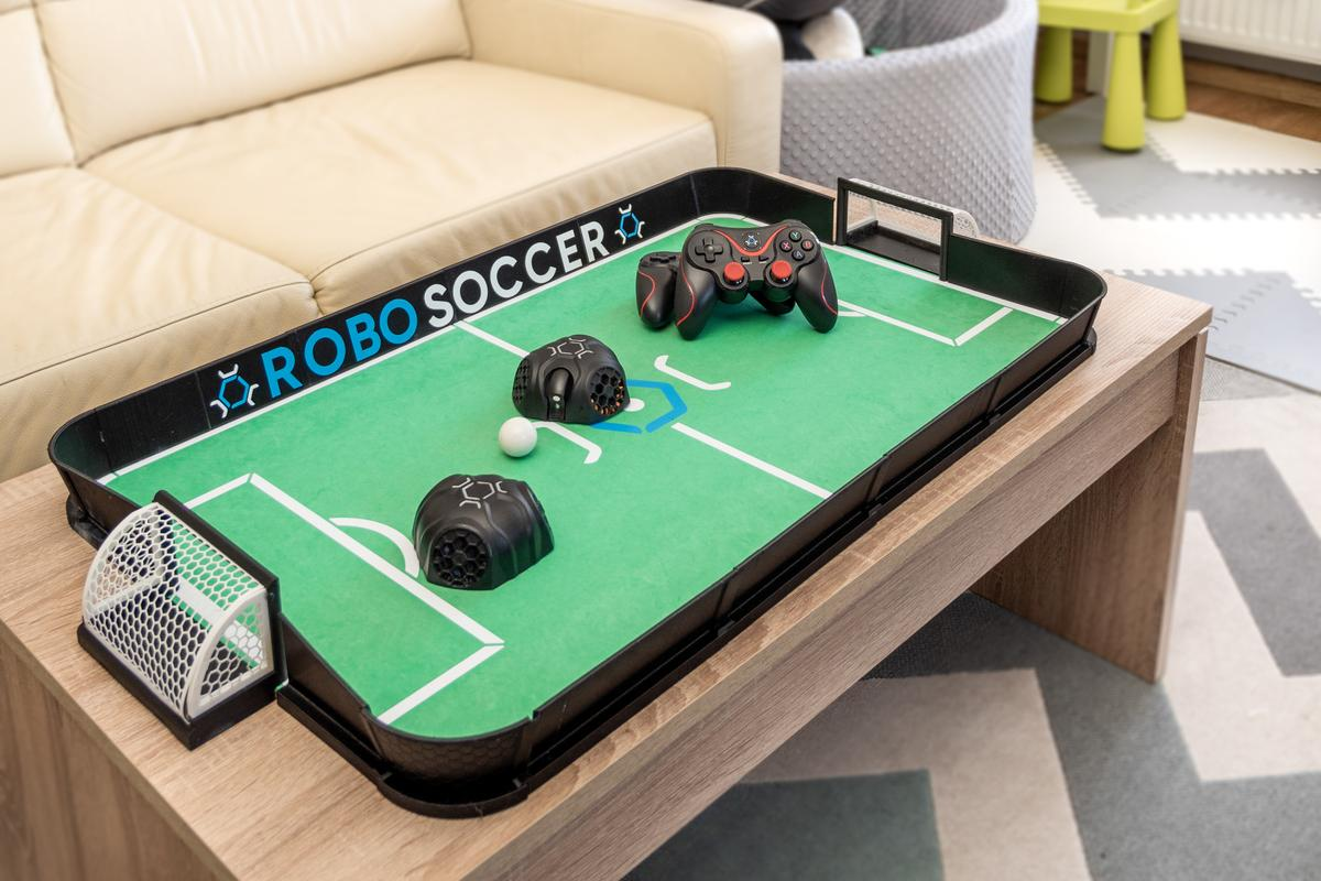 RoboSoccer is presently on Kickstarter