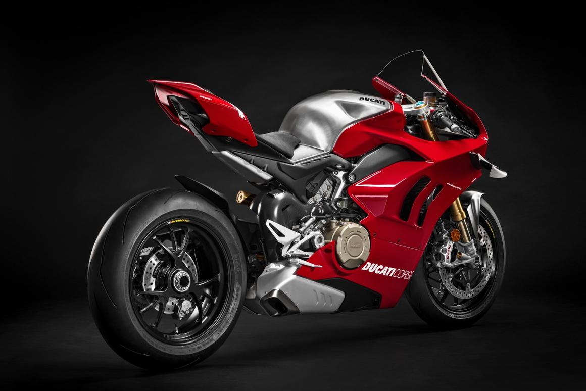 Hail to the king: Ducati's new Panigale V4R is the most