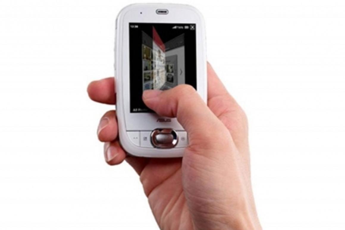 ASUS P552w PDA phone