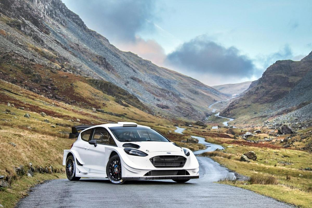 The new Ford Fiesta M-Sport Fiesta RS WRC