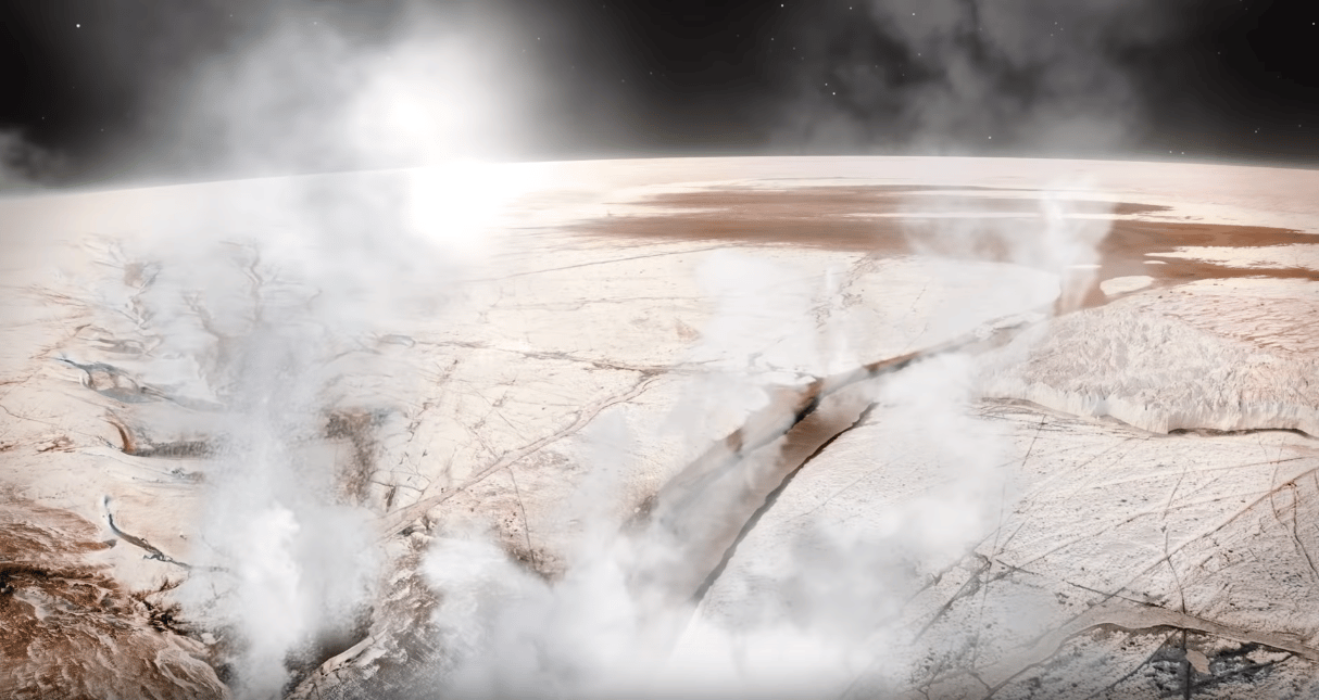 Scientists have detected the first direct evidence of water vapor on Jupiter's moon Europa