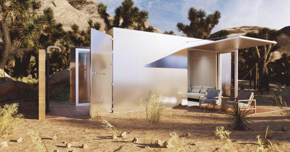 Shipping container prefab home is bursting with luxury