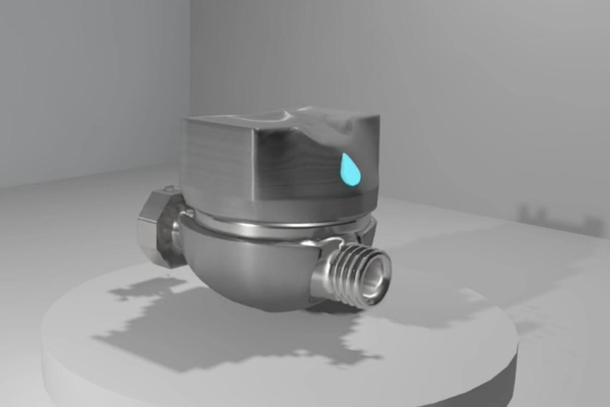 Driblet is a self-powered Wi-Fi-enabled water meter