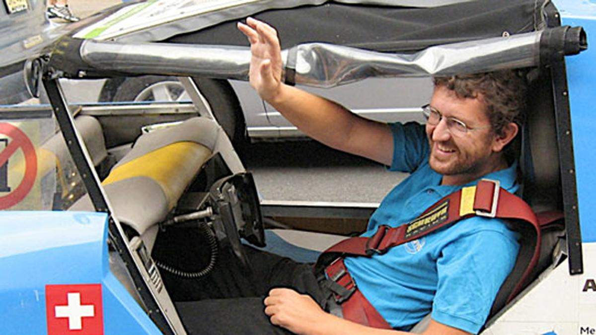 Zero Race Tour Director and first man to circumnavigate the globe in a solar car, Louis Palmer