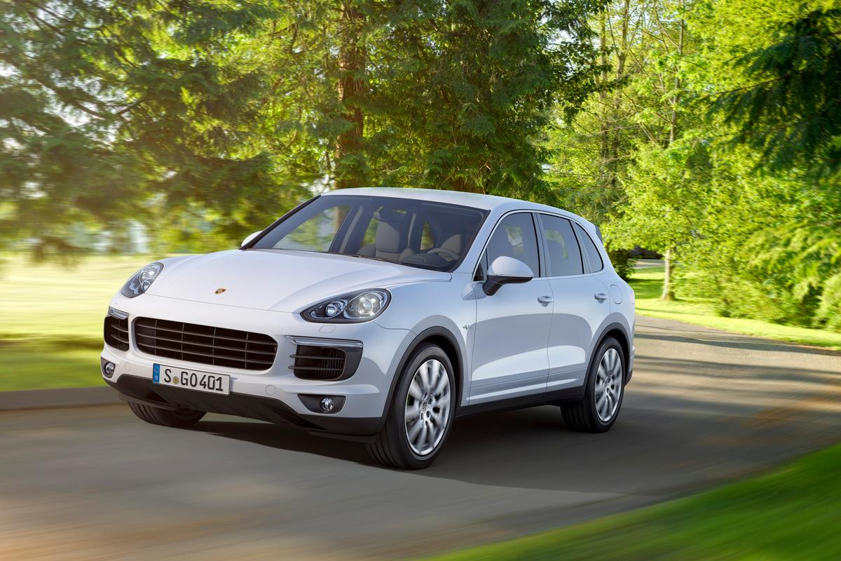 Porsche calls its new Cayenne S E-Hybrid the first plug-in hybrid premium SUV