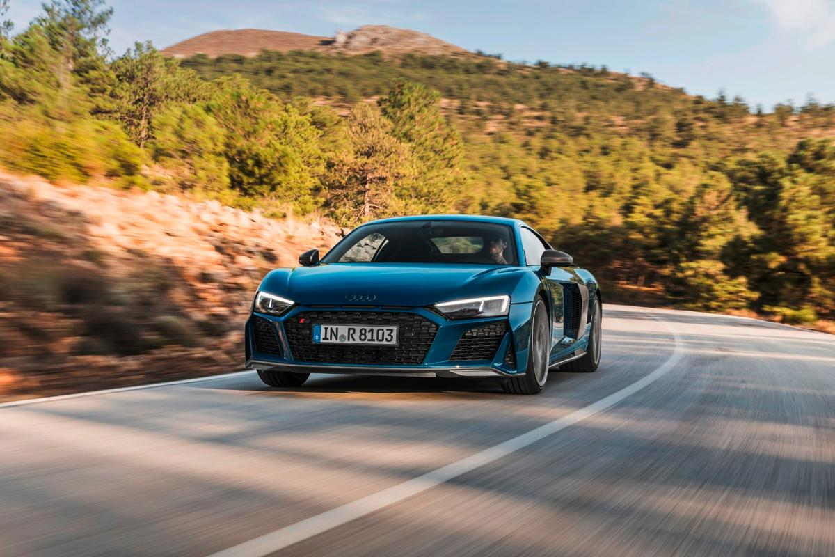 Audi hasn't said how much more power the new R8 will have, but it's likely to be significant