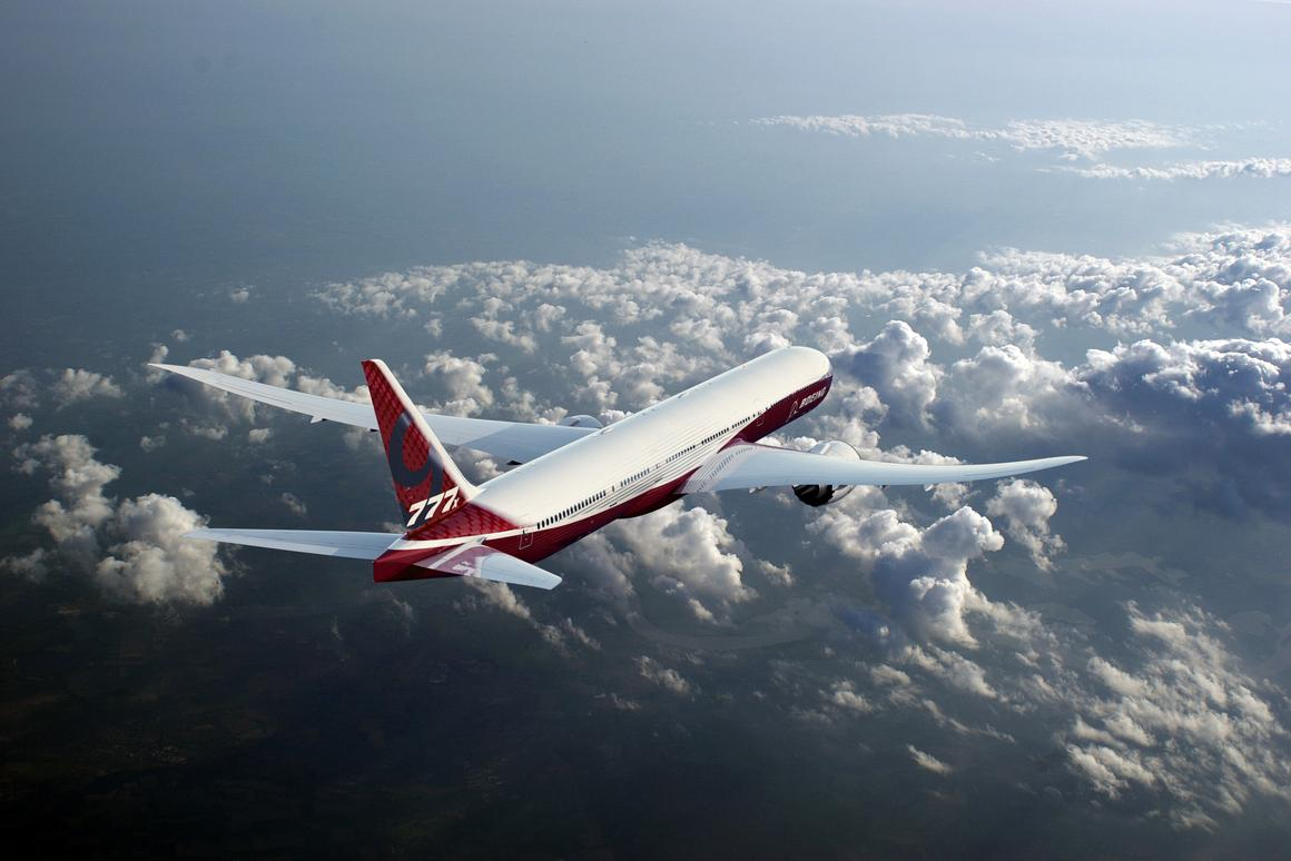 Boeing's fuel-efficient 777X features folding wings