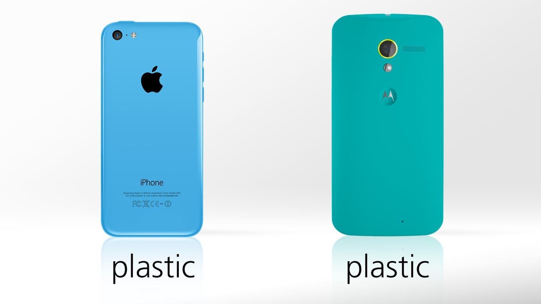 Colorful plastic, all around