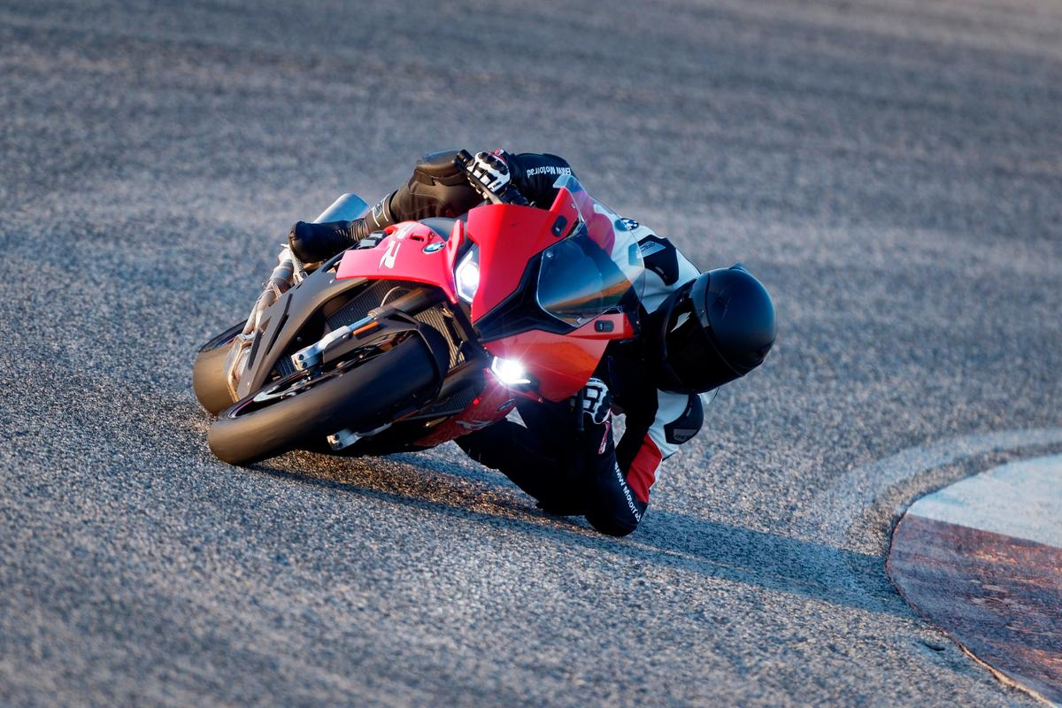 The BMW S1000RR: compact and monstrously fast