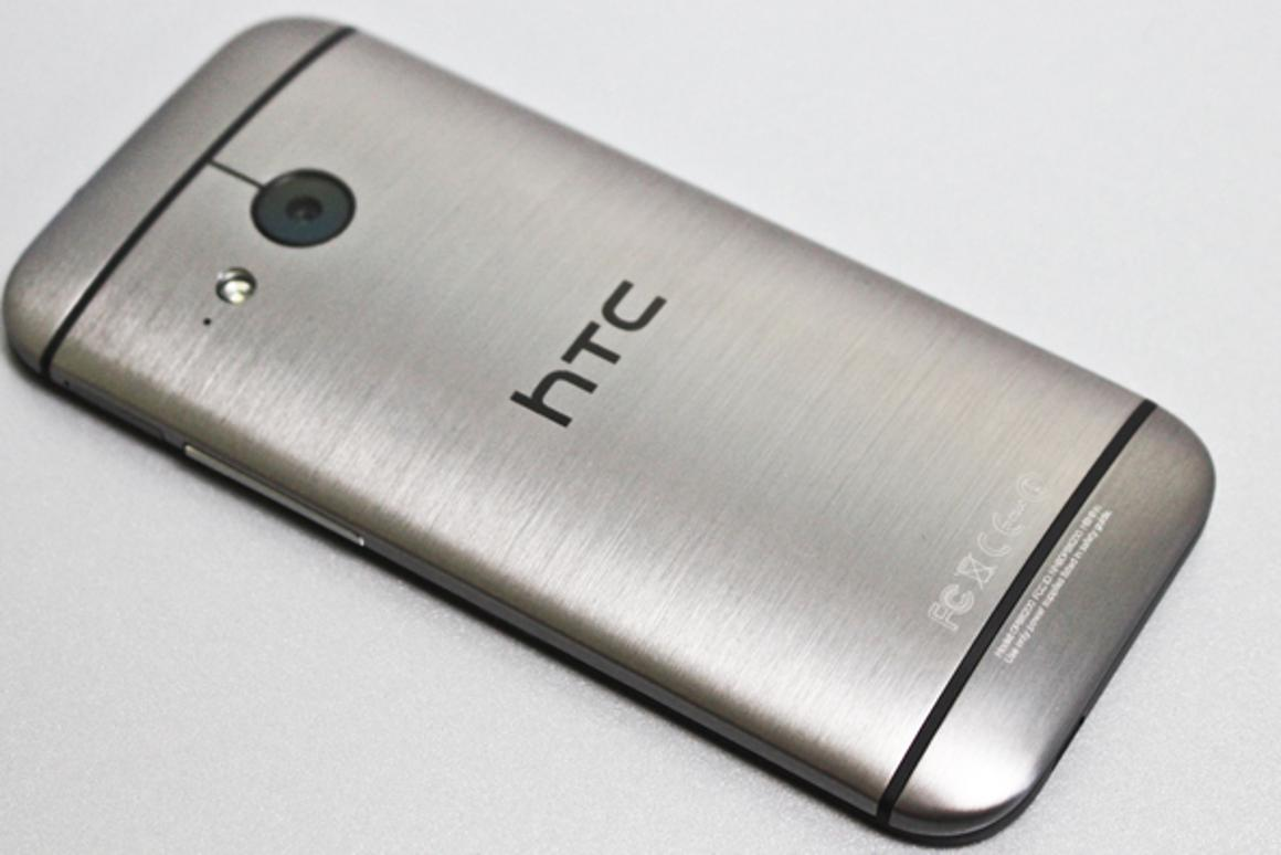 The HTC One Mini 2 takes significant design cues to from its big brother