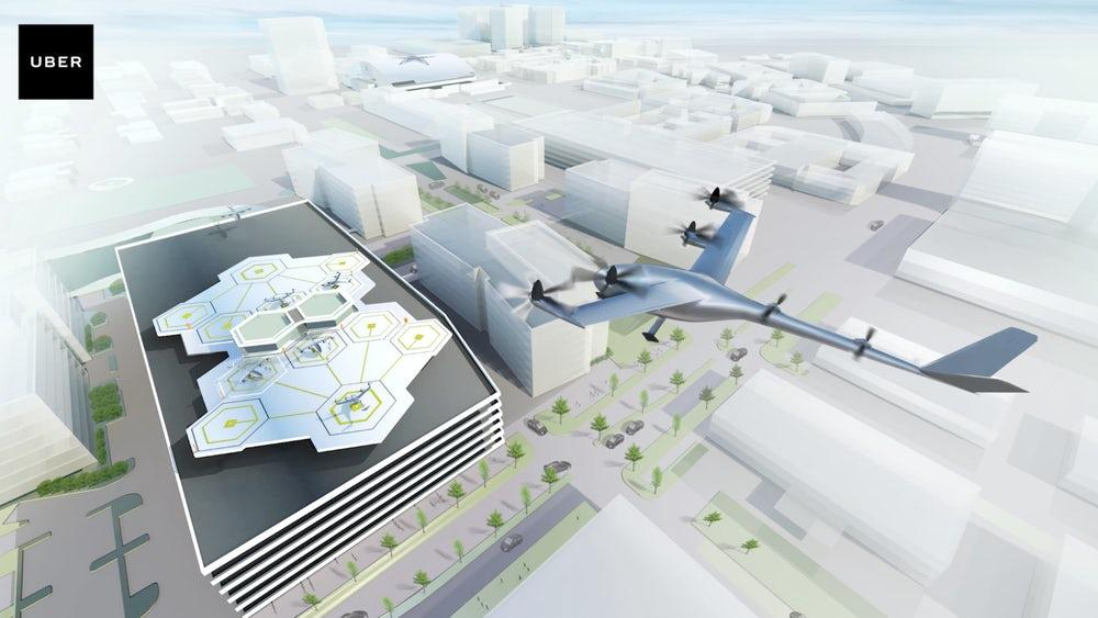 Uber first revealed plans for its flying taxi service, which it calls Uber Elevate in a 97-page white paper in 2016