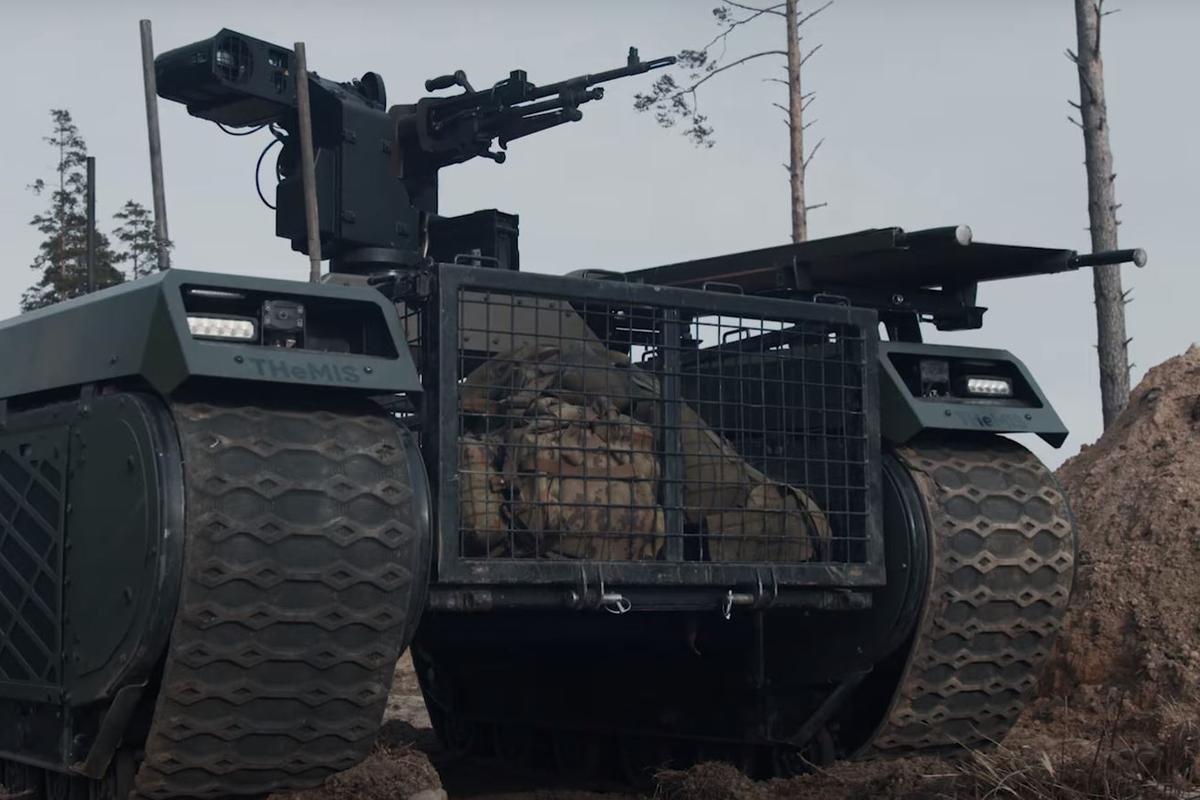 The THeMIS Combat robot