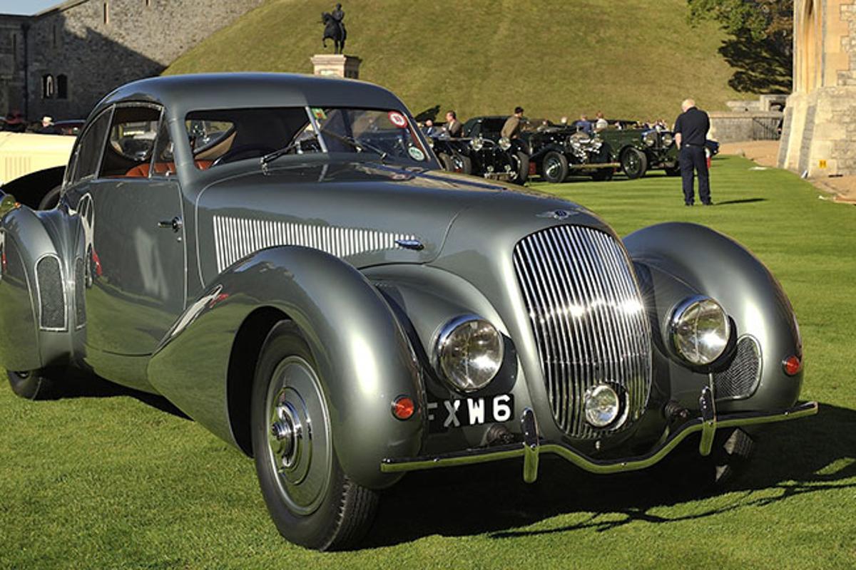 1938 Bentley 4.5 litre Embiricos Coupe