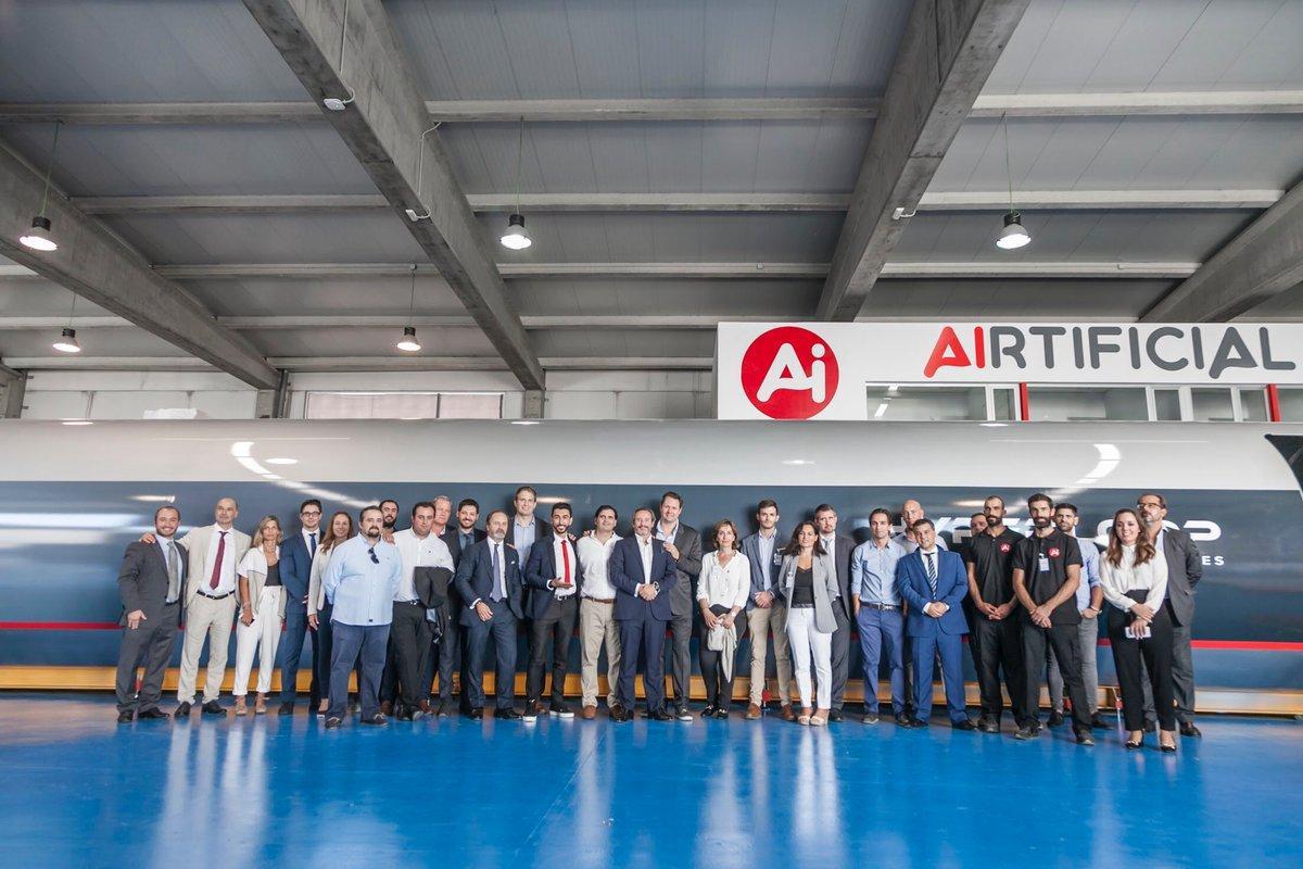 HperloopTT' revealed itsQuintero One passenger pod inSpain last year