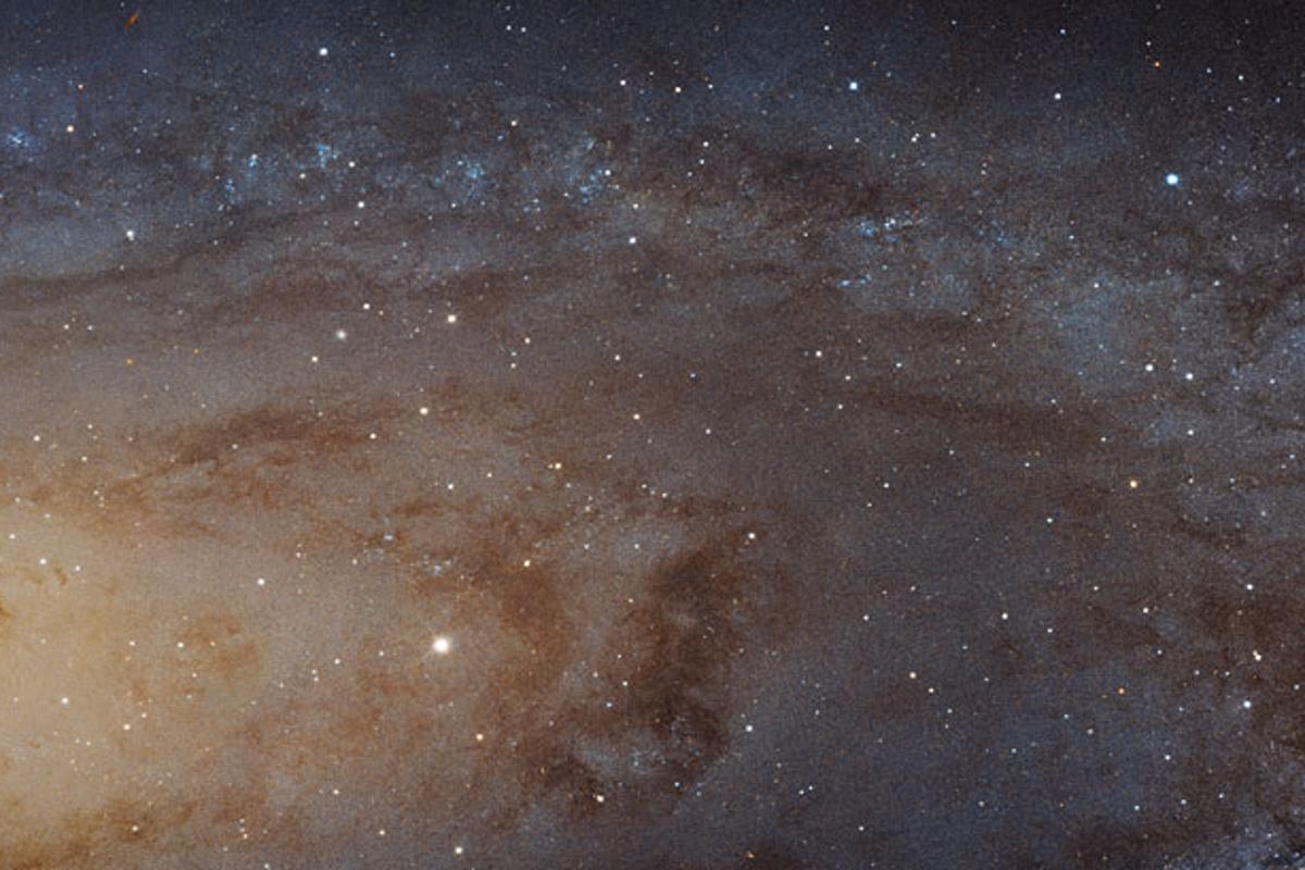 Hubble's stunning mosaic of the Andromeda galaxy comprises 411 individual images (Image: NASA)