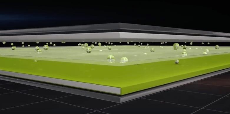 How FlashDot visualises the NanoDot technology inside its batteries