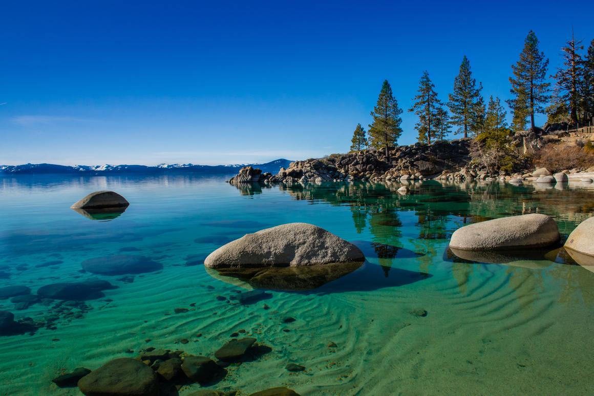 Climate change could shake up the ecology of freshwater lakes, such as Lake Tahoe