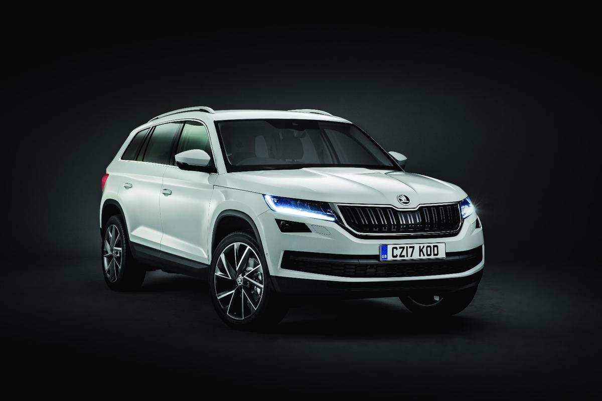 Skoda has ripped the cover all the way off the KodiaqSUV