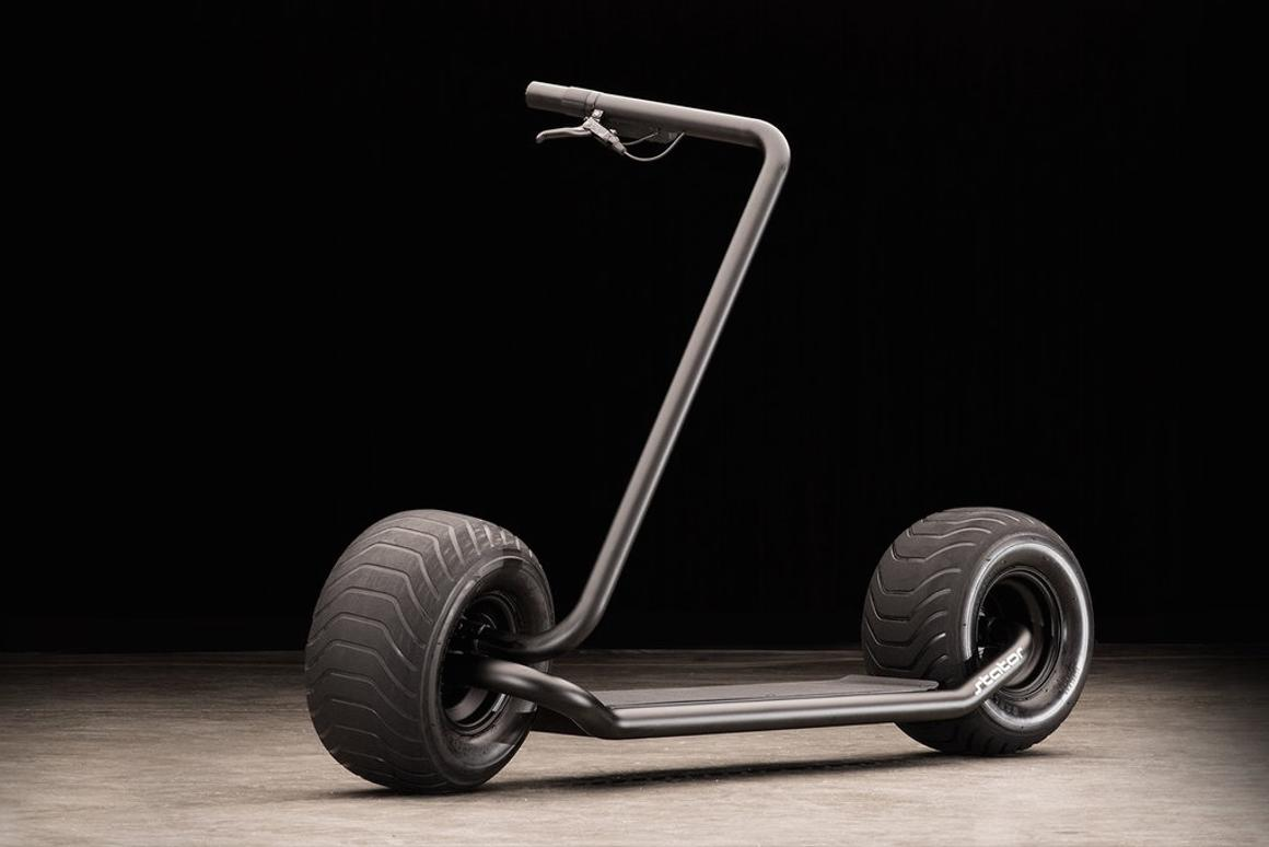The Stator scooter certainly has a look of its own