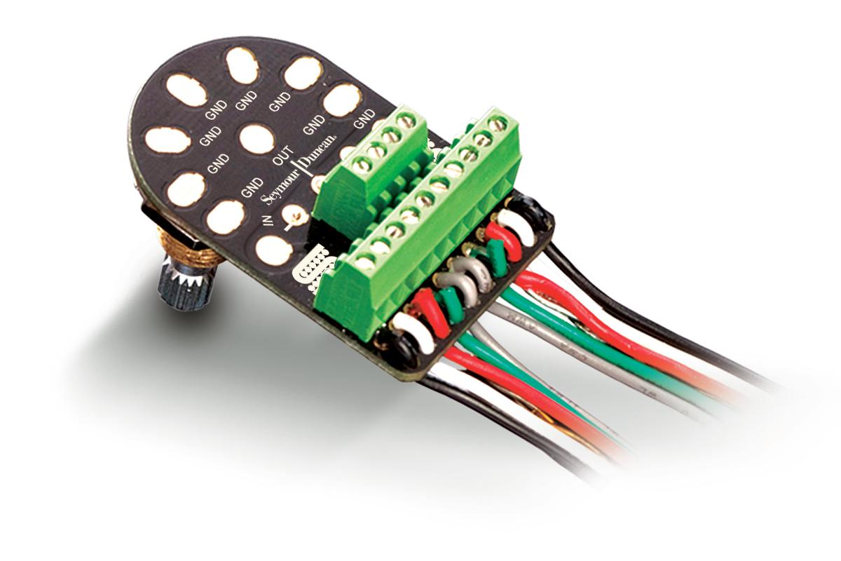 Seymour Duncan has released what it says is the world's first universal solderless pickup change system for guitar and bass