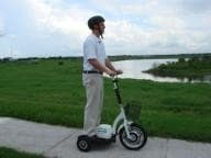 The GoPet scooter ... 16mph and 25 miles on 10 cents of electricity (Photo: PRNewswire)