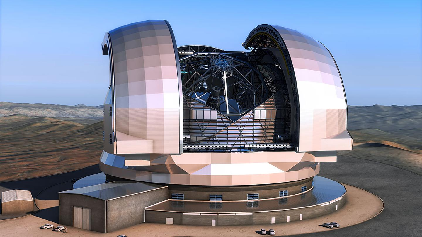 The 39-meter aperture optical and infrared telescope is expected to vastly expand our knowledge in a number of key areas (ESO/L. Calçada)
