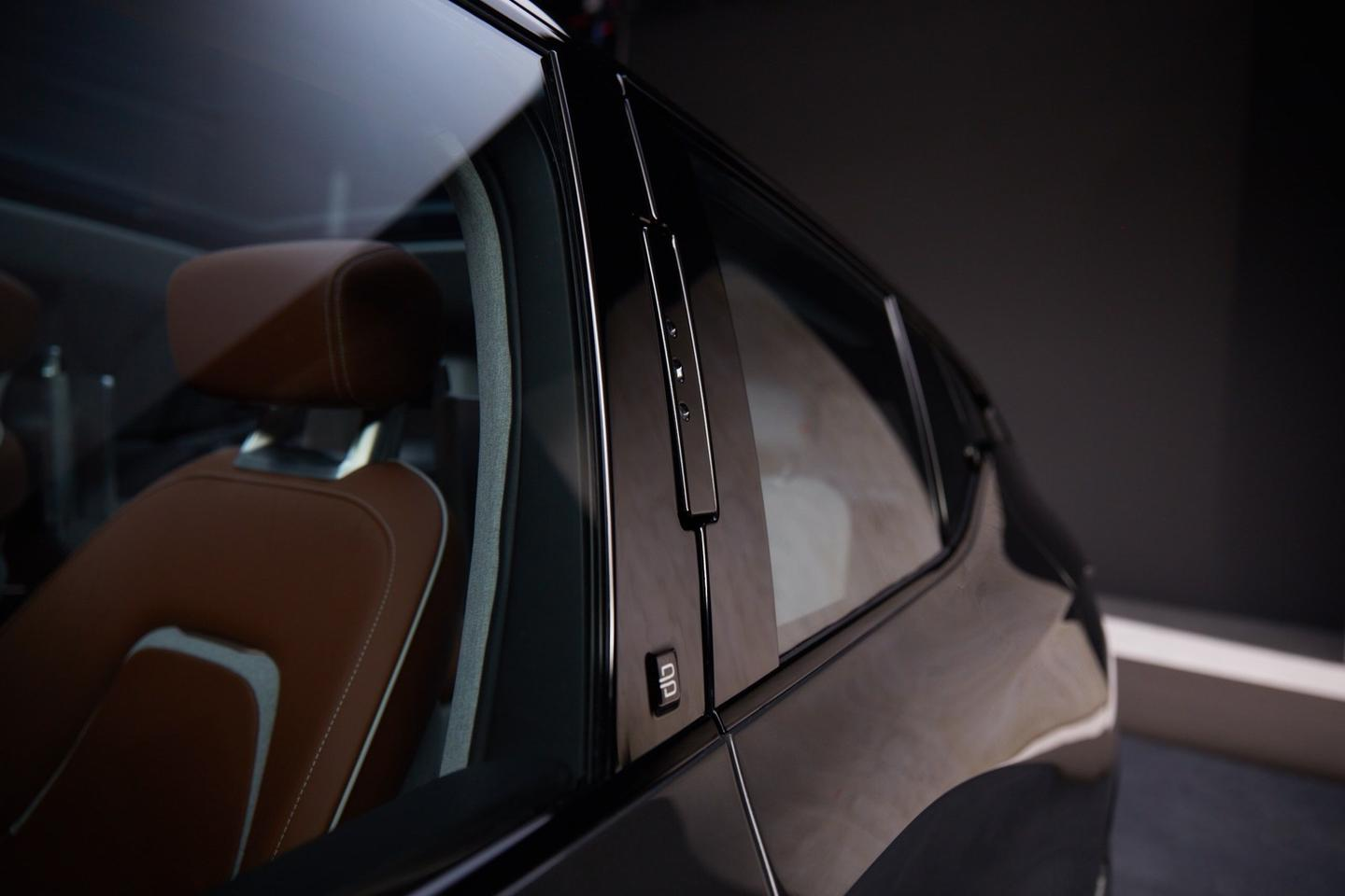 The facial recognition cameras are interesting, but they don't seem tolend a cleaner profile look versus door handles