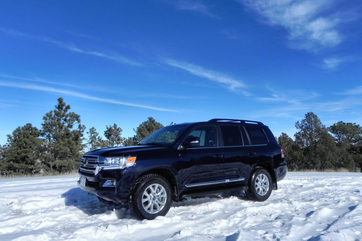 The 2016 Toyota Land Cruiser - there's still a bit of African adventure in this Cruiser