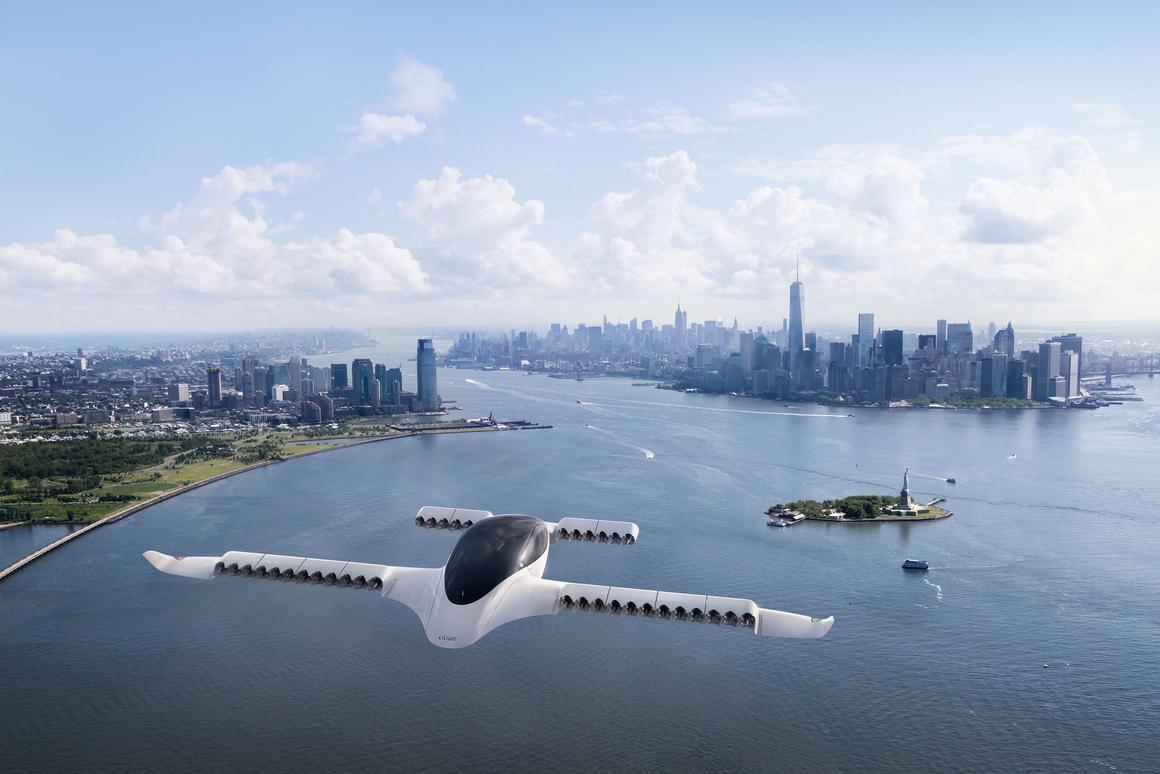 Frank Stephenson's Lilium eVTOL air taxi design was inspired by the hammerhead shark and manta ray