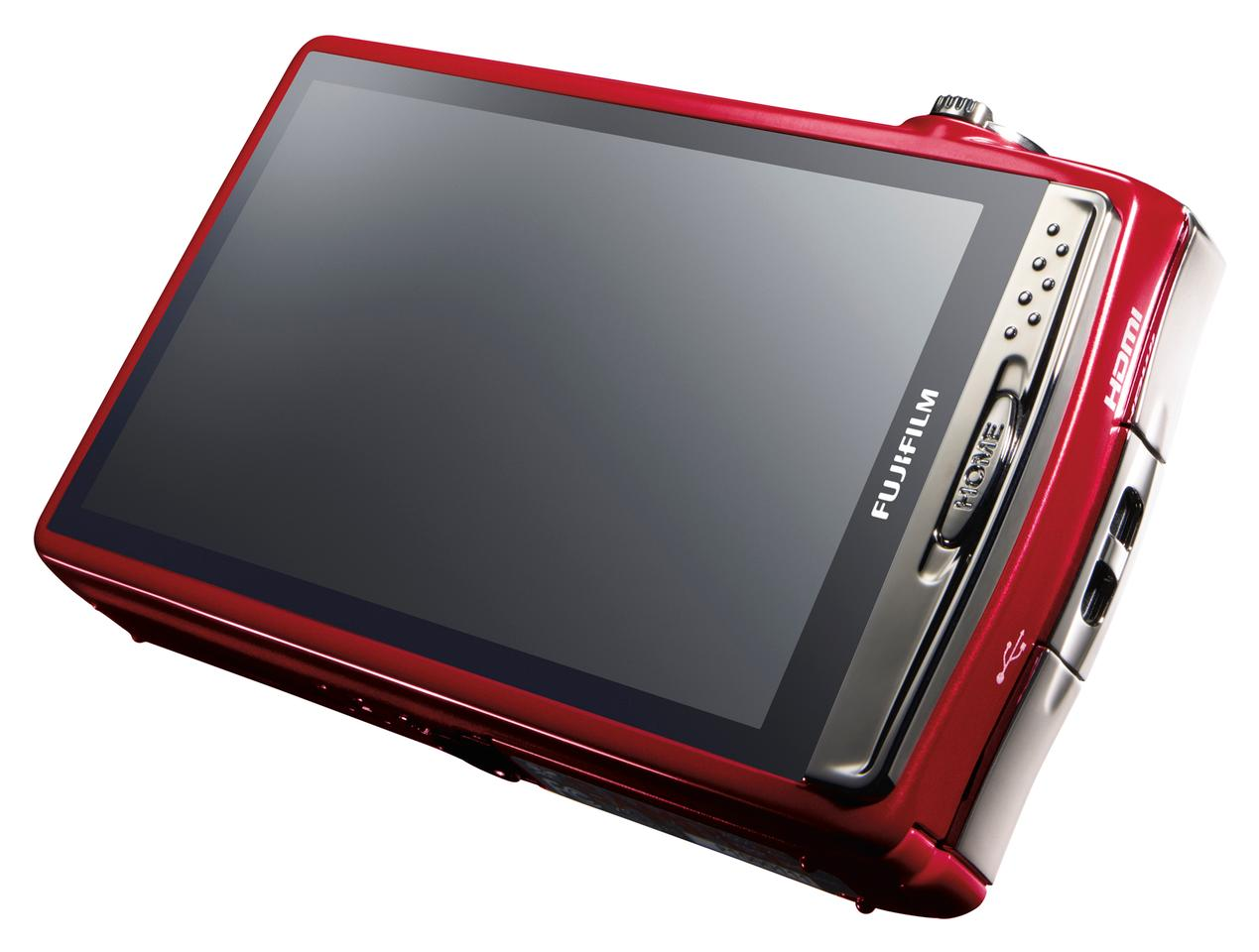 The 3.5-inch, 460,000 dot LCD display has multi-touch technology and improved menus
