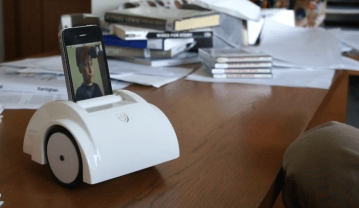 Hello Labs has launched a Kickstarter campaign for its Helios telepresence robot and app for iPhone