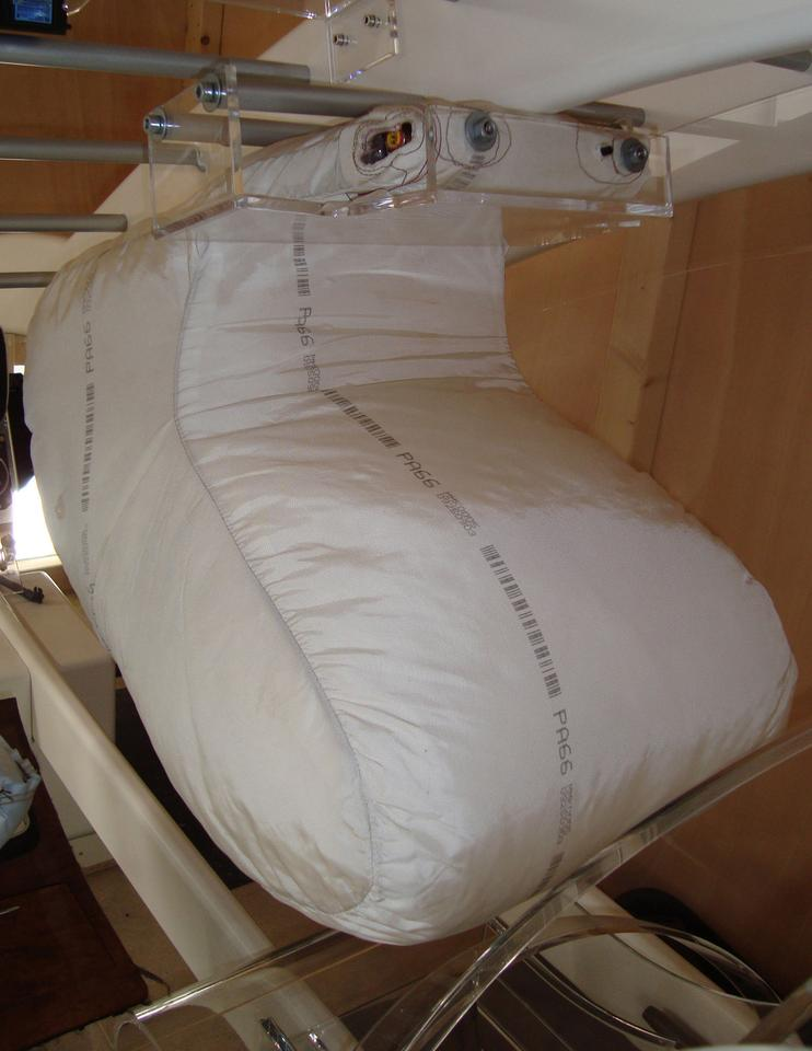TRW's bag in roof airbag system