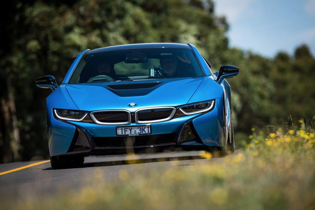 The BMW i8 shows how exciting hybrid cars can be