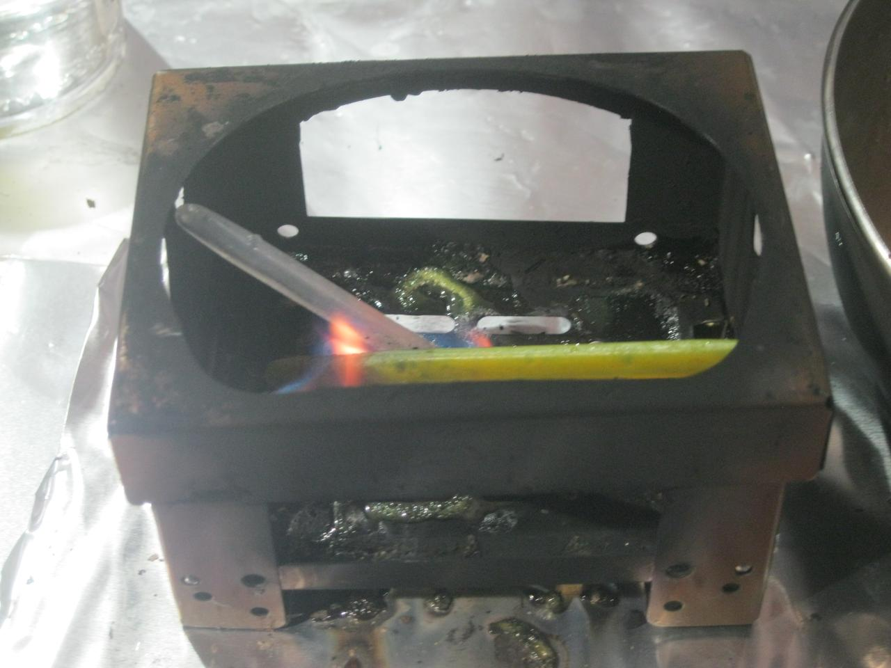 The Flamestick is a recycled thermoplastic firestarter