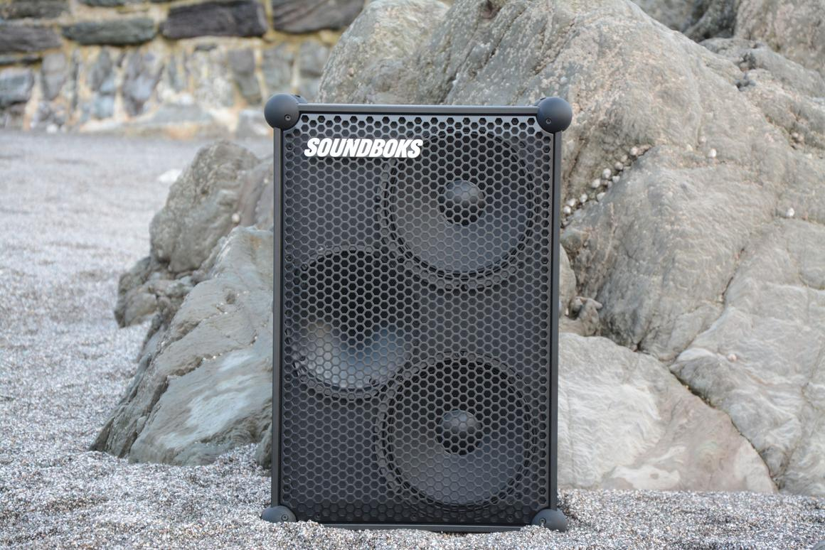 We pretty sure that the New Soundboks sank into the sand by a couple of inches after the full volume test