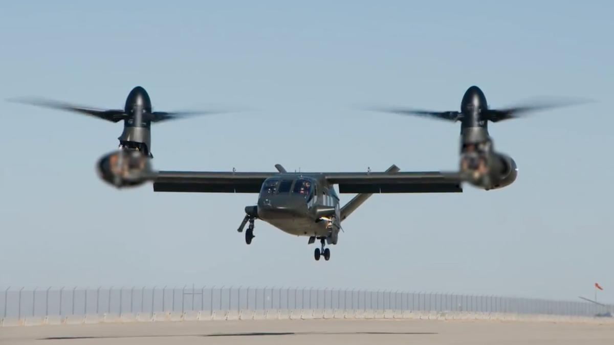 Bell Helicopter's V-280 Valor tilt-rotor aircraft makes its maiden flight
